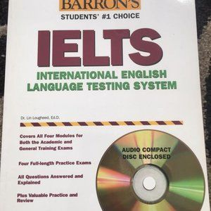 BARRON'S IELTS INTERNATIONAL ENGLISH LANGUAGE TEST